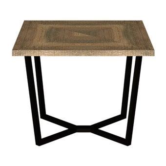 โต๊ะอาหาร รุ่น Novana สีเข้มลายไม้ธรรมชาติ3