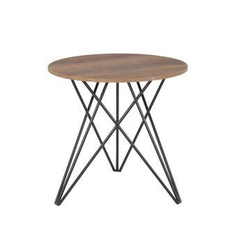 โต๊ะอาหาร รุ่น Linne สีไม้เข้ม-01