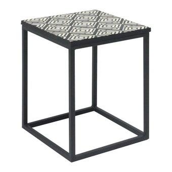 โต๊ะข้าง รุ่น Lombony สีดำ-00