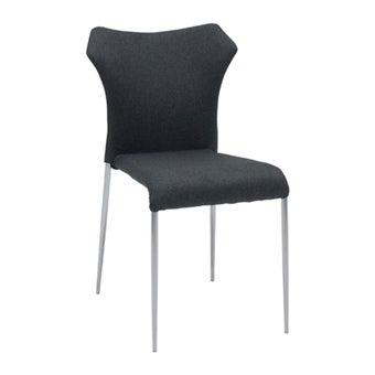 เก้าอี้ทานอาหาร เก้าอี้เหล็กเบาะผ้า รุ่น Toppa-SB Design Square