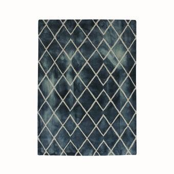 พรมตกแต่ง#40905-140 สีน้ำเงิน/QY-01