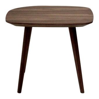 โต๊ะข้าง โต๊ะข้างไม้ล้วน รุ่น Lamood-SB Design Square