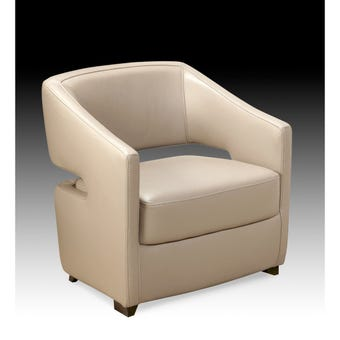 โซฟาหนังแท้ทั้งตัว โซฟาสั่งทำ รุ่น AC62-SB Design Square