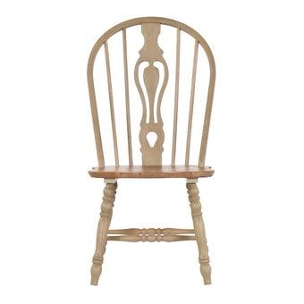 เก้าอี้ทานอาหาร เก้าอี้ไม้ล้วน รุ่น Lithunia-SB Design Square
