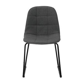 เก้าอี้ทานอาหาร เก้าอี้เหล็กเบาะผ้า รุ่น Lord-SB Design Square
