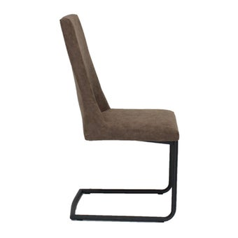 เก้าอี้ทานอาหาร เก้าอี้เหล็กเบาะหนัง รุ่น Thank-SB Design Square