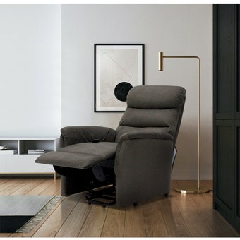 Power Lift Chair ขนาดเล็กกว่า 1.8 ม. รุ่น Zika สีน้ำตาล 08
