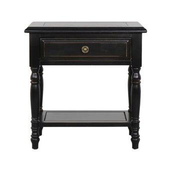 โต๊ะข้าง รุ่น Amonlo สีดำ 02