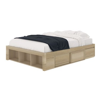ชุดห้องนอน เตียง รุ่น Condo Solutions สีสีโอ๊ค-SB Design Square