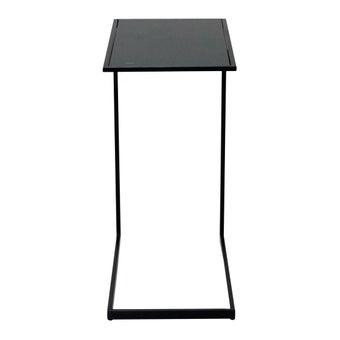 โต๊ะข้าง โต๊ะข้างเหล็กล้วน รุ่น Dommus สีสีดำ-SB Design Square