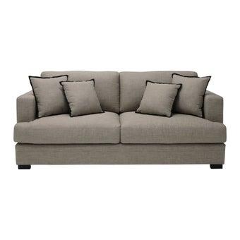 โซฟาผ้า โซฟา 3 ที่นั่ง รุ่น Careff สีสีครีม-SB Design Square