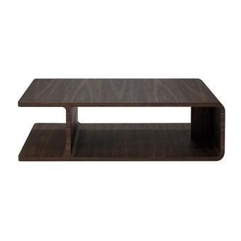 โต๊ะกลาง รุ่น Laziya สีวอลนัท1