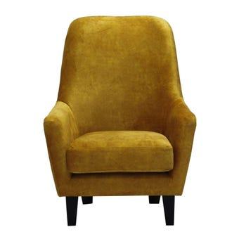 อาร์มแชร์ อาร์มแชร์ผ้า รุ่น Mola สีสีเหลือง-SB Design Square
