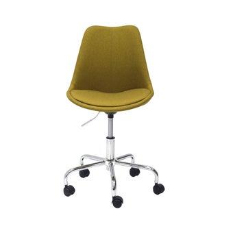เก้าอี้สำนักงาน รุ่น Axona Plus สีเหลือง-01