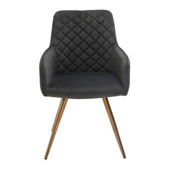 เก้าอี้ทานอาหาร เก้าอี้เหล็กเบาะผ้า รุ่น Yarisia-SB Design Square