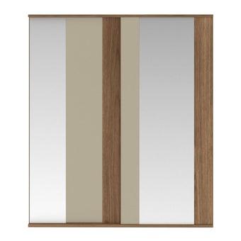ชุดห้องนอน ตู้เสื้อผ้าบานเลื่อน รุ่น Tazzina สีสีลายไม้ธรรมชาติ-SB Design Square