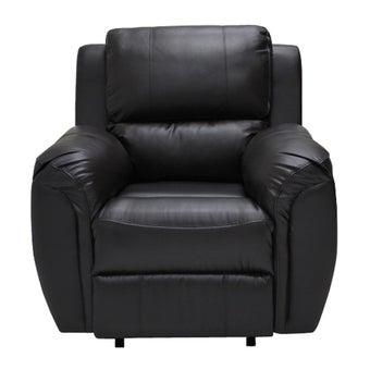 เก้าอี้พักผ่อนหนังสังเคราะห์ เก้าอี้พักผ่อน 1 ที่นั่ง รุ่น Soly สีสีน้ำตาล-SB Design Square
