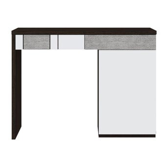ชุดห้องนอน โต๊ะเครื่องแป้งแบบนั่ง รุ่น Palazzo สีสีเข้มลายไม้ธรรมชาติ-SB Design Square