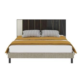 เตียงนอน ขนาด 5 ฟุต รุ่น Aureus สีดำ1