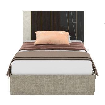 เตียงนอน ขนาด 3..5 ฟุต รุ่น Aureus สีดำ1