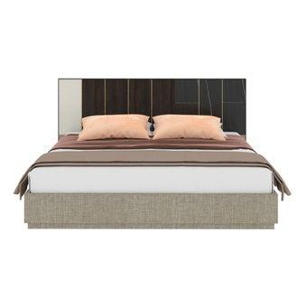 เตียงนอน ขนาด 6 ฟุต รุ่น Aureus สีดำ1