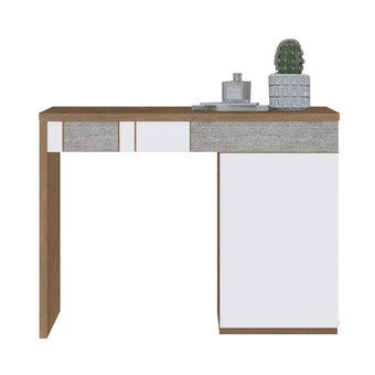 โต๊ะเครื่องแป้ง ขนาด 100 ซม. รุ่น Palazzo สีลายไม้ธรรมชาติ-00