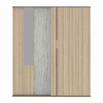 ชุดห้องนอน ตู้เสื้อผ้าบานเลื่อน รุ่น Econi-B สีสีอ่อน-SB Design Square