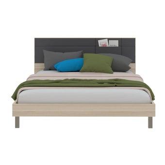 ชุดห้องนอน เตียง รุ่น Minimo-B สีสีโอ๊คอ่อน-SB Design Square