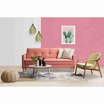 โซฟาผ้า โซฟาเบด รุ่น Anatole สีสีชมพู-SB Design Square