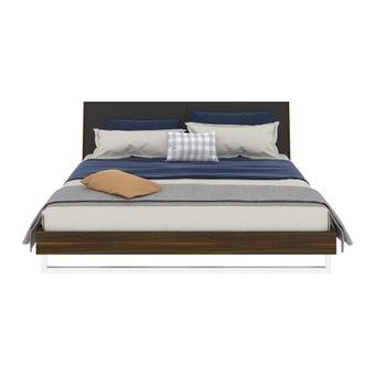 ชุดห้องนอน เตียง รุ่น Mezzini สีสีลายไม้ธรรมชาติ-SB Design Square
