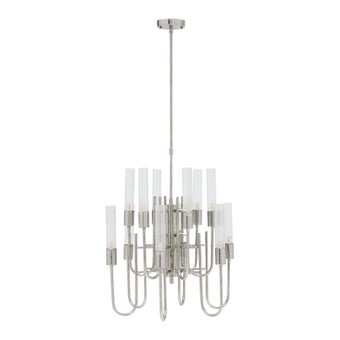 โคมไฟ โคมไฟแขวน รุ่น Modern Luxury สีสีเงิน-SB Design Square