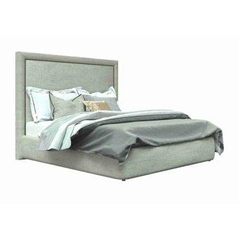 เตียงนอน ขนาด 6 ฟุต รุ่น Atthis-A สีครีม