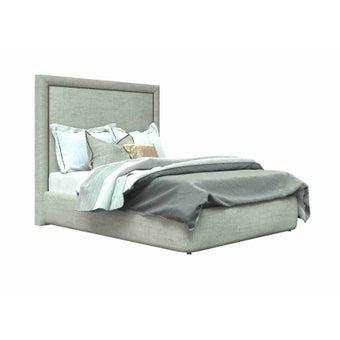 เตียงนอน ขนาด 5ฟุต รุ่น Atthis-A สีครีม