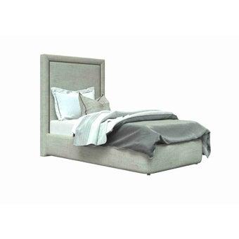 เตียงนอน ขนาด 3.5 ฟุต รุ่น Atthis-A  สีครีม