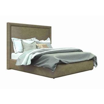 เตียงนอน ขนาด 6ฟุต รุ่น Atthis-A สีน้ำตาล