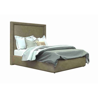 เตียงนอน ขนาด 5ฟุต รุ่น Atthis-A สีน้ำตาล