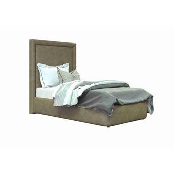 เตียงนอน ขนาด 3.5 ฟุต รุ่น Atthis-A สีน้ำตาล