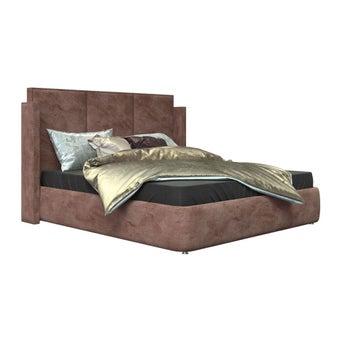 เตียงนอน ขนาด 6 ฟุต รุ่น Catalyn สีชมพูกำมะหยี่
