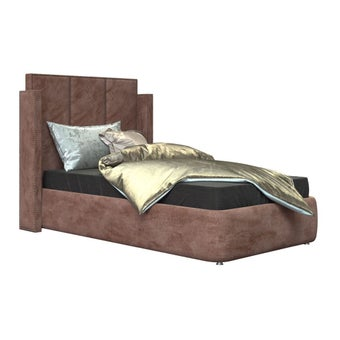 เตียงนอน รุ่น Catalyn สีชมพู