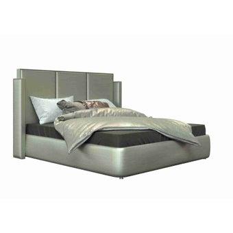 เตียงนอน ขนาด 6 ฟุต รุ่น Catalyn สีเงินมุก