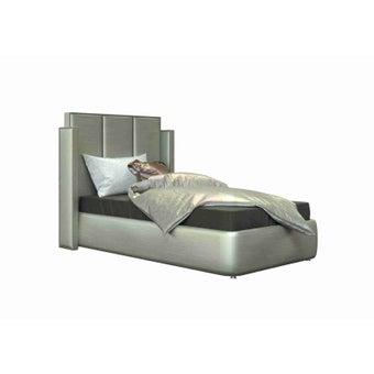 เตียงนอน ขนาด 3.5 ฟุต รุ่น Catalyn สีเงินมุก