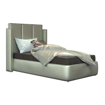 Bed Catalyn Silver