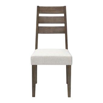 เก้าอี้ทานอาหาร เก้าอี้ไม้เบาะผ้า รุ่น Sanako-SB Design Square