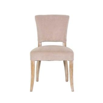 เก้าอี้ รุ่น PATTERN#2 ไม้ BRICH สีครีมน้ำตาล