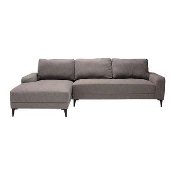 โซฟาผ้า โซฟาเข้ามุมซ้าย รุ่น Maxmar สีสีน้ำตาล-SB Design Square