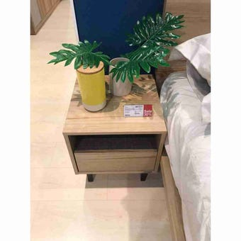 ชุดห้องนอน ตู้ข้างเตียง รุ่น Benesia สีสีโอ๊ค-SB Design Square