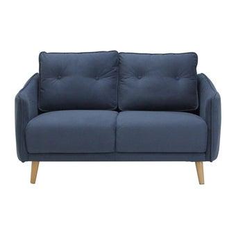 โซฟาผ้า โซฟา 2 ที่นั่ง รุ่น Logan สีสีฟ้า-SB Design Square