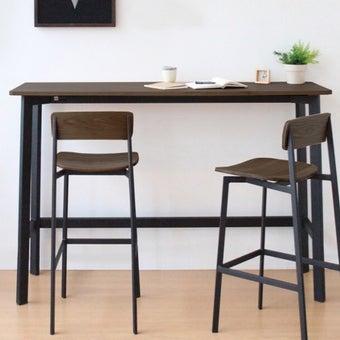 โต๊ะอาหารสั่งทำ รุ่น Angle สีไม้เข้ม3