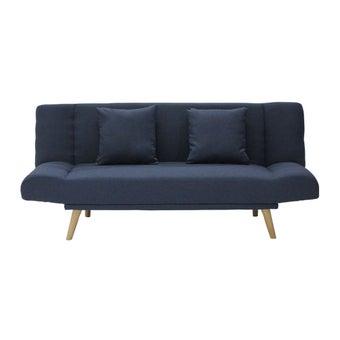 โซฟาผ้า โซฟาเบด รุ่น Manner สีสีฟ้า-SB Design Square