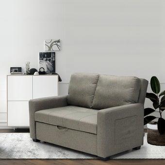 โซฟาผ้า โซฟาเบด รุ่น Shasa สีสีน้ำตาล-SB Design Square